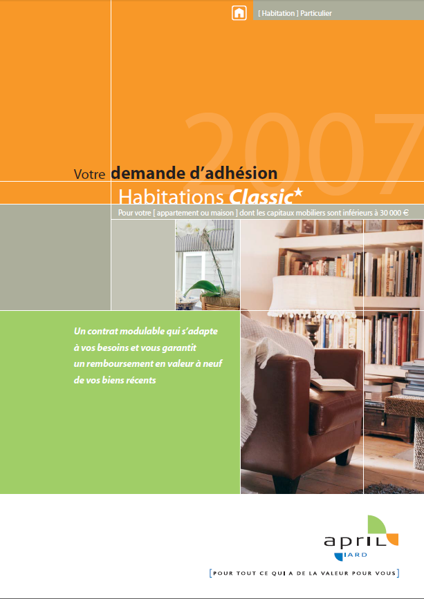 Assurance Habitation April